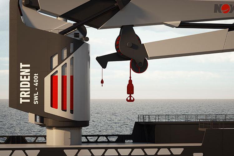 Trident Marine Cranes Pump Repair