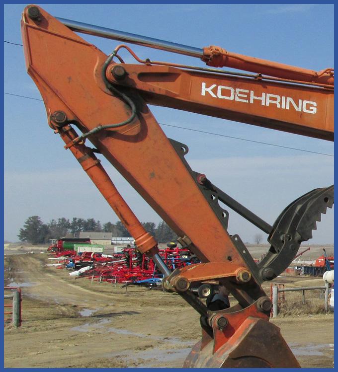 Koehring Hydrostatic Pump Repair