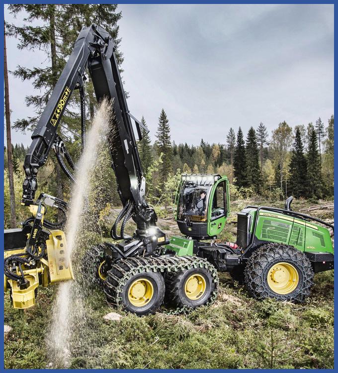 Logging Equipment Hydraulic Repair